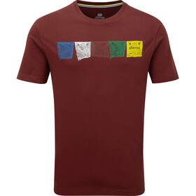 Sherpa Tarcho Miehet Lyhythihainen paita , punainen